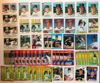 Lot of (63) Nolan Ryan Baseball Cards With 1977 Topps #6, #234, 1978 Topps #6, #206, 1979 Topps #115, #417, 1981 Topps #240 at PristineAuction.com