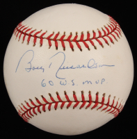 "Bobby Richardson Signed OAL Baseball Inscribed ""60 W.S. MVP"" (JSA COA) at PristineAuction.com"