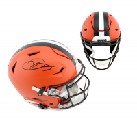 Odell Beckham Jr. Signed Cleveland Browns Full-Size Authentic On-Field SpeedFlex Helmet (Radtke COA) at PristineAuction.com