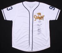 Baseball Jersey Signed by (6) with Tom Guiry, Chauncey Leopardi, Marty York, Shane Obedzinski, Victor DiMattia & Brandon Adams with (6) Inscriptions (JSA COA) at PristineAuction.com
