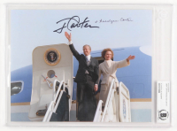 Jimmy Carter & Rosalynn Carter Signed 8x10 Photo (BGS Encapsulated) at PristineAuction.com