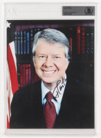 Jimmy Carter Signed 8x10 Photo (BGS Encapsulated) at PristineAuction.com