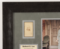 Robert E Lee Signed 19x23 Custom Framed Photo Display (Beckett LOA) at PristineAuction.com