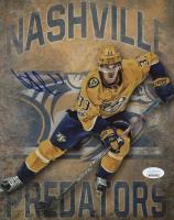Viktor Arvidsson Signed Nashville Predators 8x10 Photo (JSA COA) at PristineAuction.com