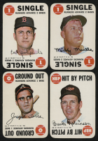 Lot of (4) 1968 Topps Game Baseball Cards with #2 Mickey Mantle, #3 Carl Yastrzemski, #9 Brooks Robinson, & #31 Joe Torre at PristineAuction.com