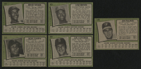Lot of (5) 1971 Topps Baseball Cards with #210 Rod Carew, #525 Ernie Banks, #530 Carl Yastrzemski, #625 Lou Brock, & #570 Jim Palmer at PristineAuction.com