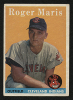 1958 Topps #47 Roger Maris RC at PristineAuction.com