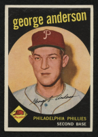 1959 Topps #338 Sparky Anderson RC at PristineAuction.com