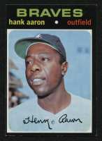 1971 Topps #400 Hank Aaron at PristineAuction.com