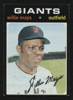 1971 Topps #600 Willie Mays at PristineAuction.com