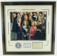 Bill Clinton Signed 30x30 Custom Framed Cut Display (JSA COA) at PristineAuction.com