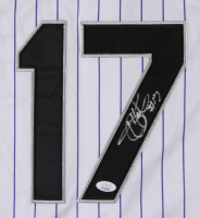 Todd Helton Signed Colorado Rockies Jersey (JSA COA) at PristineAuction.com