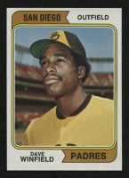 1974 Topps #456 Dave Winfield RC at PristineAuction.com