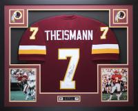 "Joe Theismann Signed 35x43 Custom Framed Jersey Inscribed ""83 NFL - MVP"" (JSA COA) at PristineAuction.com"