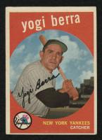 1959 Topps #180 Yogi Berra at PristineAuction.com