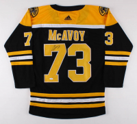 Charlie McAvoy Signed Boston Bruins Jersey (JSA COA) at PristineAuction.com