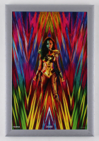 """Wonder Woman 1984"" 12.5x18.5 Custom Framed Movie Poster Display at PristineAuction.com"
