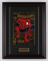 "Vintage 1990 ""Spider-Man"" Issue #1 Marvel 13.5x17.5 Custom Framed Comic Book Display at PristineAuction.com"