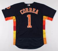 Carlos Correa Signed Houston Astros Jersey (JSA COA) at PristineAuction.com