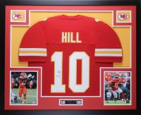 Tyreek Hill Signed 35x43 Custom Framed Jersey (JSA COA) at PristineAuction.com