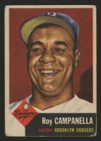 1953 Topps #27 Roy Campanella at PristineAuction.com