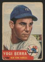 1953 Topps #104 Yogi Berra at PristineAuction.com