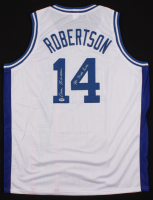 """Oscar Robertson Signed Jersey Inscribed """"Mr. Triple Double"""" (PSA COA) at PristineAuction.com"""