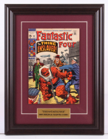 "Vintage 1969 ""Fantastic Four"" Issue #91 Marvel 13.5x17.5 Custom Framed Comic Book Display at PristineAuction.com"