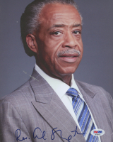 Rev. Al Sharpton Signed 8x10 Photo (PSA Hologram) at PristineAuction.com