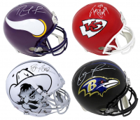 Schwartz Sports Football G.O.A.T. Superstar Signed Full Size Helmet Mystery Box - Series 2 (Limited to 112) (Pristine Exclusive Edition) at PristineAuction.com