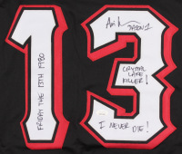 Ari Lehman Signed Jersey with Multiple Inscriptions (JSA Hologram) at PristineAuction.com