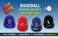Schwartz Sports Hot Hits Baseball Star Batting Helmet Mystery Box – Series 3 (Limited to 15) at PristineAuction.com