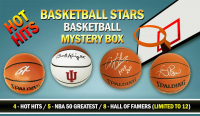 Schwartz Sports Hot Hits - Basketball Stars Signed Basketball Mystery Box – Series 2 (Limited to 12) at PristineAuction.com