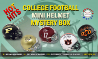 Schwartz Sports Hot Hits – College Football Star Signed Mini Helmet Mystery Box – Series 1 (Limited to 15) at PristineAuction.com