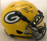 Jordy Nelson Signed Green Bay Packers Full-Size Hydro-Dipped Speed Helmet with Visor (JSA COA) at PristineAuction.com