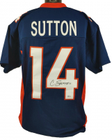 Courtland Sutton Signed Jersey (Beckett COA) at PristineAuction.com
