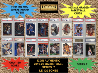 Icon Authentic 2019-20 Basketball Series 7 Mystery Box at PristineAuction.com