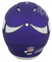 """Randy Moss Signed Vikings Full-Size Authentic On-Field Speed Helmet Inscribed """"Straight Cash Homie"""" (Beckett COA) at PristineAuction.com"""