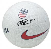 Megan Rapinoe Signed Team USA Logo Nike Soccer Ball (JSA COA) at PristineAuction.com