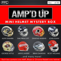 Press Pass Collectibles 2019 Amp'd Up! Mini Helmet Mystery Box – Series 1 (Limited to 50) at PristineAuction.com