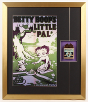 "Vintage Paramount Picture ""Betty Boop's Little Pal"" 20x23 Custom Framed Film Reel Display at PristineAuction.com"