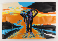 """Rodney Weng - """"Beauty and Power"""" 25x36 Original Oil Panting on Linen (PA LOA) at PristineAuction.com"""