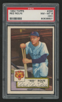 1952 Topps #296 Red Rolfe MG SP (PSA 8) (OC) at PristineAuction.com