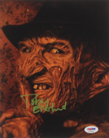 "Robert Englund Signed ""Freddy Krueger"" 8x10 Photo (PSA Hologram) at PristineAuction.com"