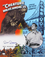 "Rex Reason Signed ""The Creature Walks Among Us"" 16x20 Photo (JSA COA) at PristineAuction.com"