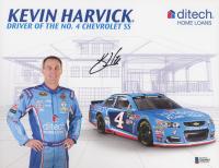 Kevin Harvick Signed NASCAR 8.5x11 Photo (Beckett COA) at PristineAuction.com