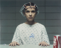"Millie Bobby Brown Signed ""Stranger Things"" 16x20 Photo (Beckett COA) at PristineAuction.com"