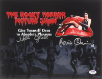 "Nell Campbell & Patricia Quinn Signed ""The Rocky Horror Picture Show"" 11x14 Photo (PSA COA) at PristineAuction.com"