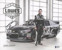 Jimmie Johnson Signed NASCAR 8x10 Photo (Beckett COA) at PristineAuction.com