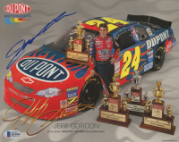Jeff Gordon Signed NASCAR 8x10 Photo (Beckett COA) at PristineAuction.com